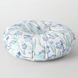 forget-me-not Floor Pillow
