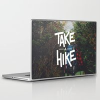 backpack Laptop & iPad Skins featuring Take A Hike by Zeke Tucker