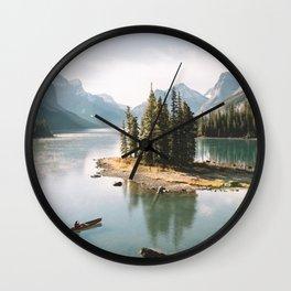 A Canadien Postcard Wall Clock