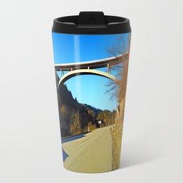 Mighty valley bridge   architecture photography Travel Mug