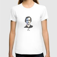 poe T-shirts featuring Poe by Mark B Hill Art