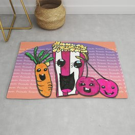 FRIENDS FOREVER Rug