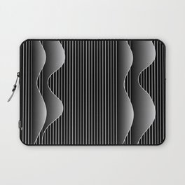 night waves Laptop Sleeve