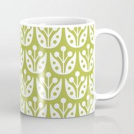 Mid Century Flower Pattern 5 Coffee Mug