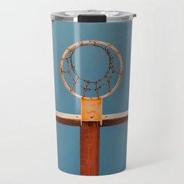 basketball hoop 5 Travel Mug
