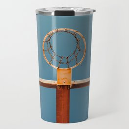 basketball hoop 5 Travel Mug