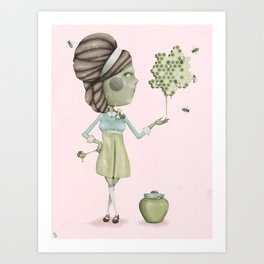 Sweeter Than Art Print