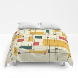Mid-Century Modern (gold) Comforters
