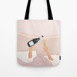 Morning Wine Tote Bag
