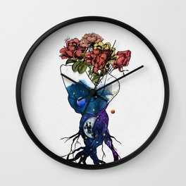Roots of love. Wall Clock