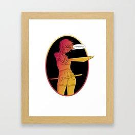 Last Chance... Framed Art Print