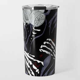 Artisan Artwork 2: Steampunk Grim Reaper Travel Mug