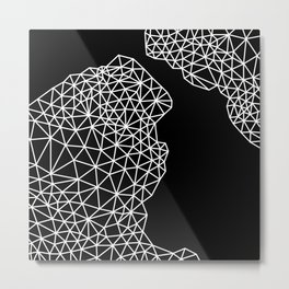 Dark Precipice  Metal Print