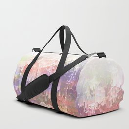 Frozen Magical Nature - Peach and Ultra-Violet Duffle Bag