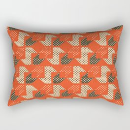 Clover&Nessie Apple/Choco Rectangular Pillow