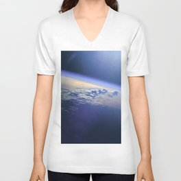 Indian Ocean Seen From Space Unisex V-Neck
