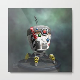Bot Metal Print