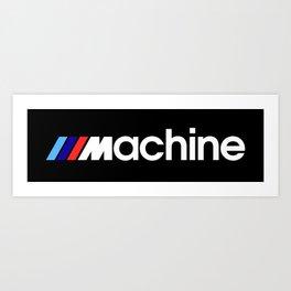 BMW Machine Art Print