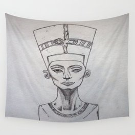 Nerfertiti Wall Tapestry