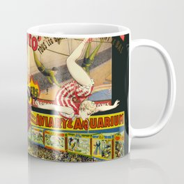 The Circus is in Town Coffee Mug