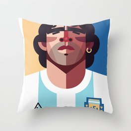 DM10 | La Albiceleste Throw Pillow