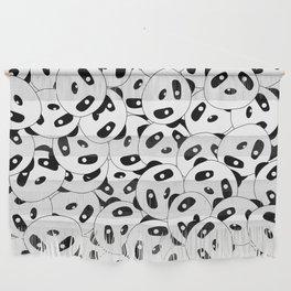 Pandas x 9999 (Patterns Please) Wall Hanging