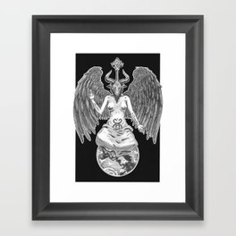 Baphomet Framed Art Print