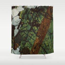Pyroxene and Feldspar Shower Curtain