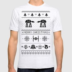 May the Christmas Spirit be with you. Mens Fitted Tee MEDIUM Ash Grey