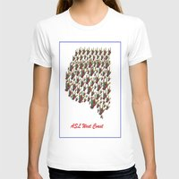 west coast T-shirts featuring ASL - I LOVE YOU West Coast by EloiseArt