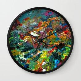 MUHU IMPRESSION II Wall Clock