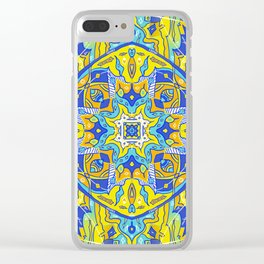 Azulejo Clear iPhone Case