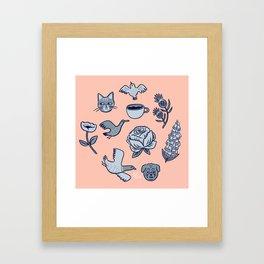 A Few Favorite Things Framed Art Print