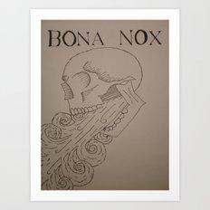 BONA NOX Art Print