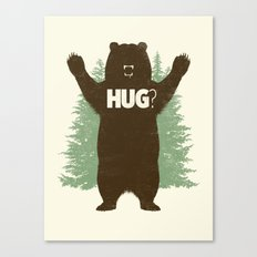 Bear Hug? Canvas Print