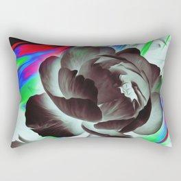 inversion, flowers, oil Rectangular Pillow