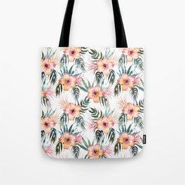 Honolua Tropic White Tote Bag