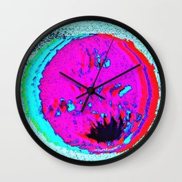 QUEERNESS GLITCHED THIS BINARY UNIVERSE Wall Clock