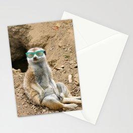 Sunny Meerkat Stationery Cards