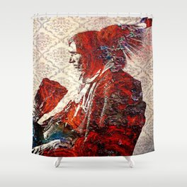 Laid to Rust Shower Curtain