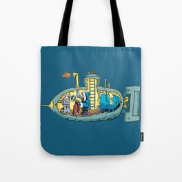 The Submarine of Dr. Khozan Tote Bag