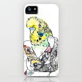 Watercolour Art: 'Hot Bird', Pin-up Girl Unique Art.  iPhone Case