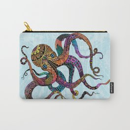 Electric Octopus Carry-All Pouch