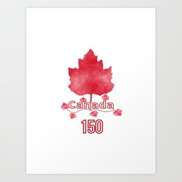 Canada 150 Art Print