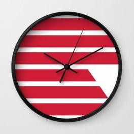 "Redzone ""R"" Pillow Wall Clock"