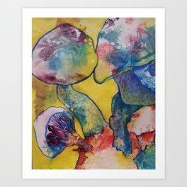Mushroom Magic Art Print