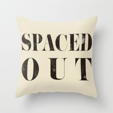 Spaced Out Throw Pillow