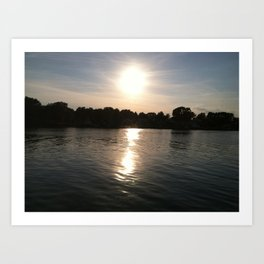 Chesapeake Bay Beach Art Print
