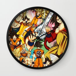 change goku Wall Clock