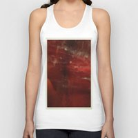 outer space Tank Tops featuring Outer Space by Liv Bird